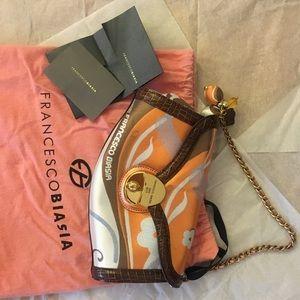 Unique Authentic Francesco Biasia evening bag